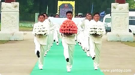 公祭活动的精典礼仪展示(专业礼仪)2