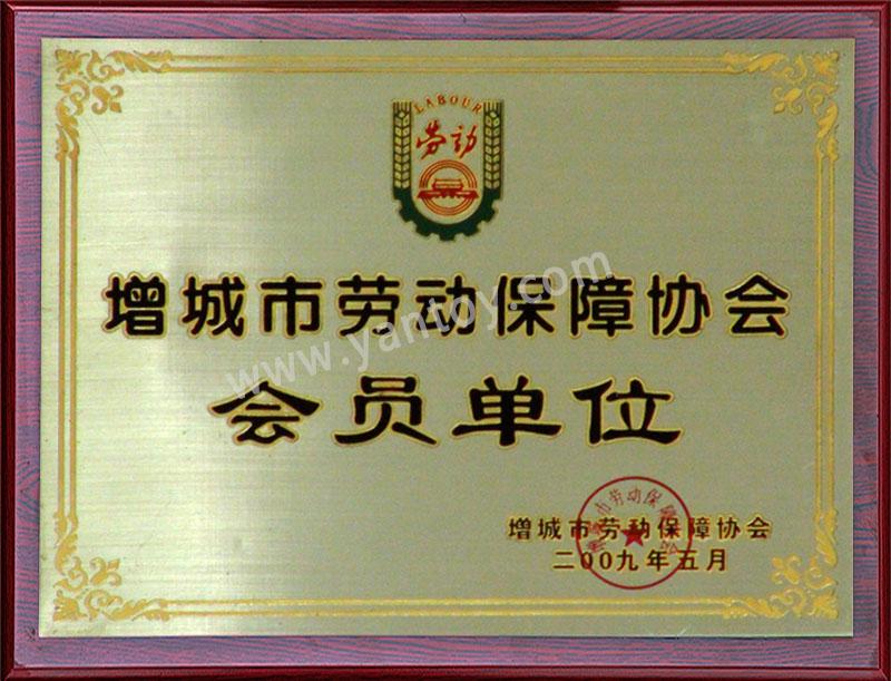 增城市劳动保障协会 会员单位