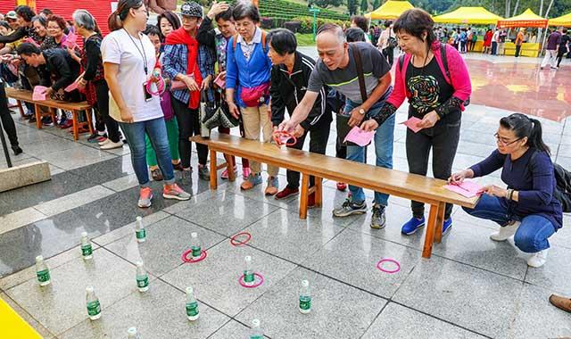 5重阳敬老爱老游戏活动 节日气氛