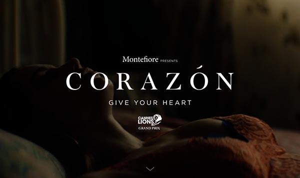 为推广器官捐献,Montefiore医院拍了部48′影片《Corazón》