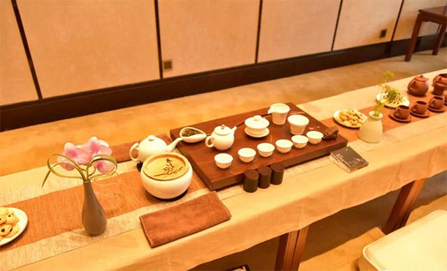 会场泡茶的各种辅助用具-2