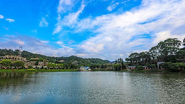 万安园荷花湖·水月轩景观-6