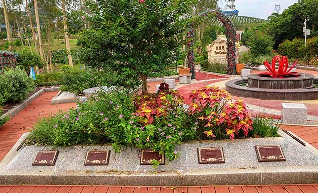 玫瑰苑花坛葬碑型