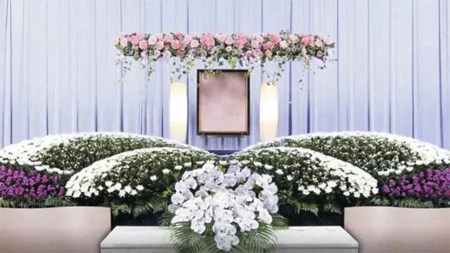 5▲海丰花卉旗下的福德礼仪公司制作的日式花艺产品